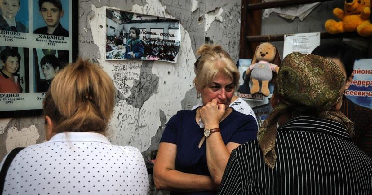 Фото В Беслане и Москве прошли траурные акции в годовщину теракта