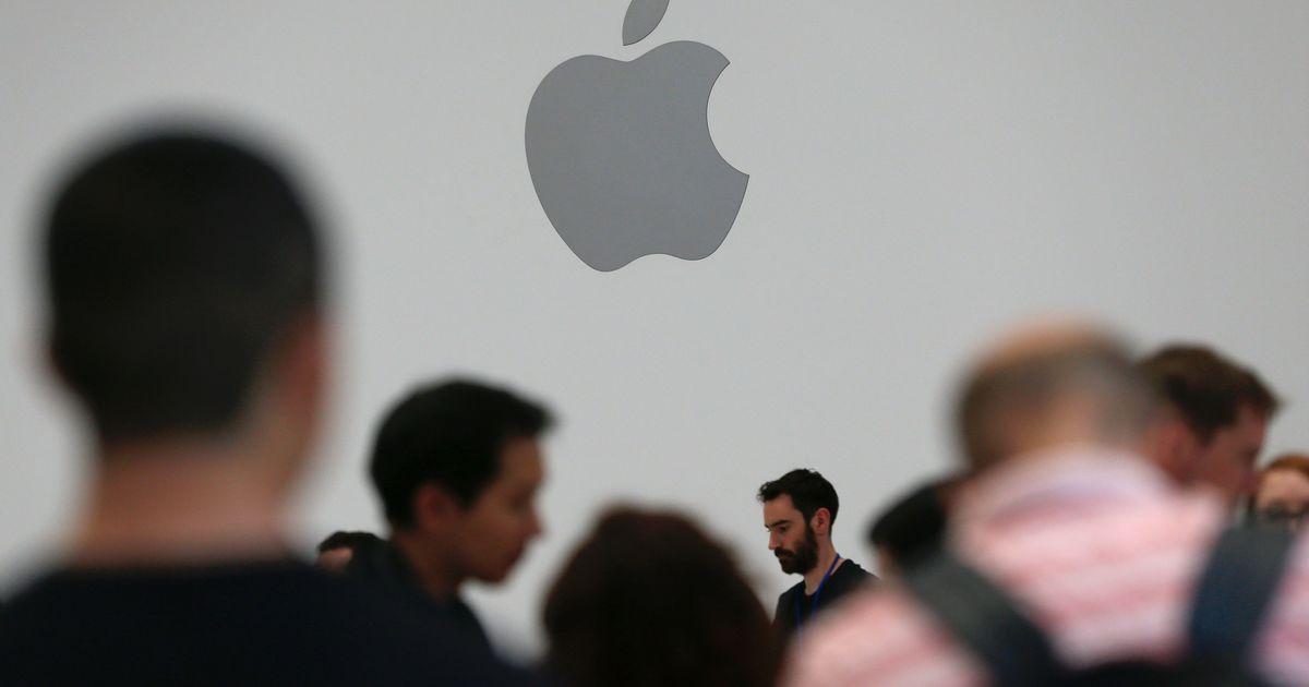 Фото Падение акций Apple установило абсолютный рекорд
