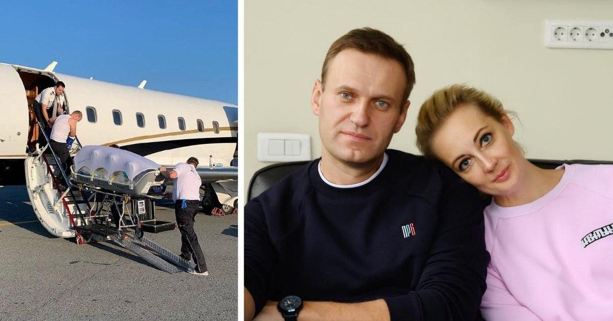 Фото «Новичок» найден на коже, в крови и моче Навального - Der Spiegel