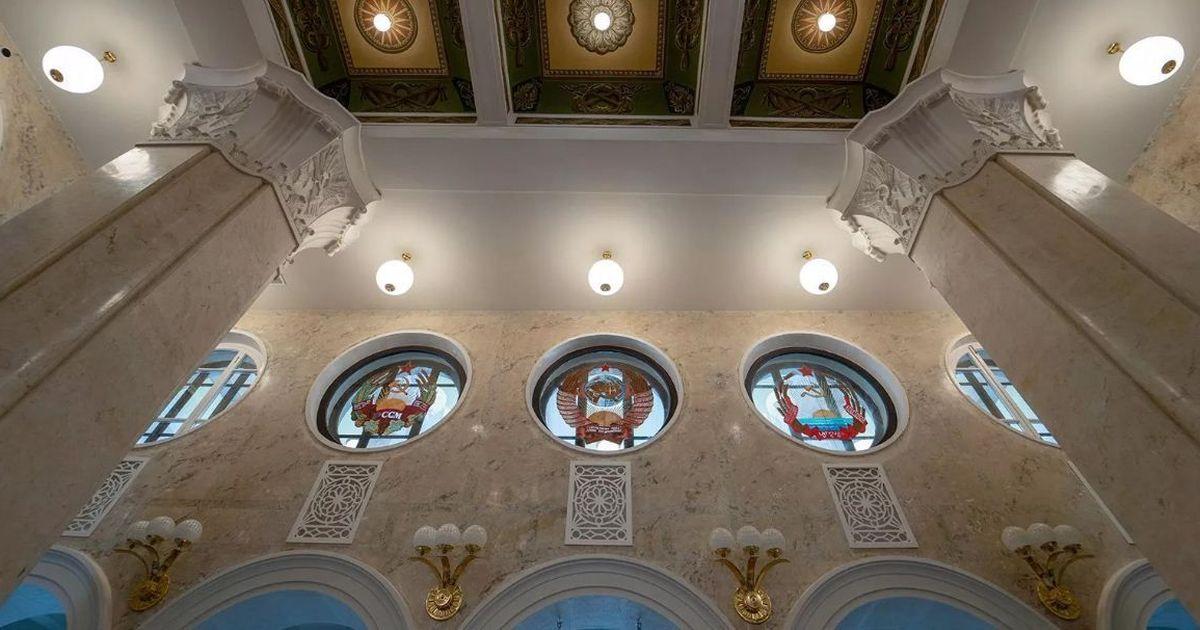 Фото В Москве открылся после реставрации Северный речной вокзал