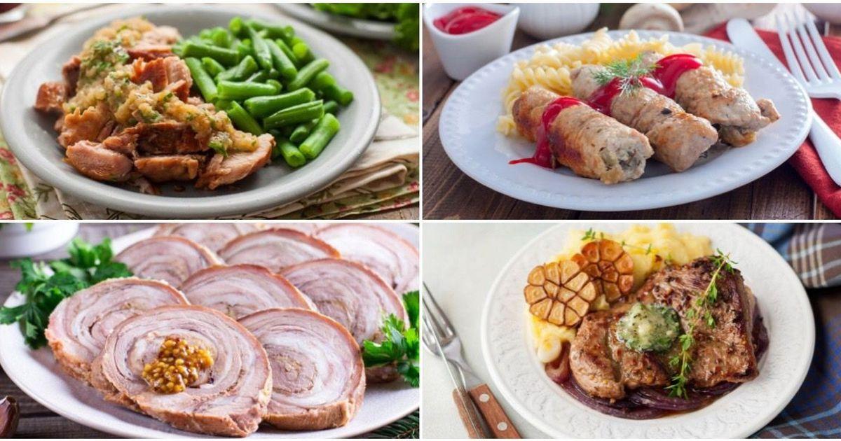 Фото ТОП-7 мясных блюд со свининой