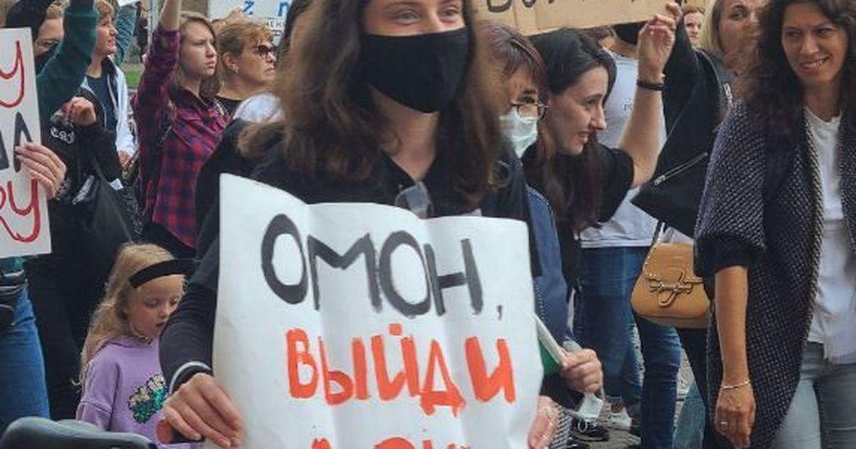Фото В Белоруссии задержали за субботу 91 протестующего