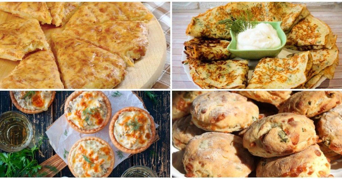 Фото Подборка сырных закусок
