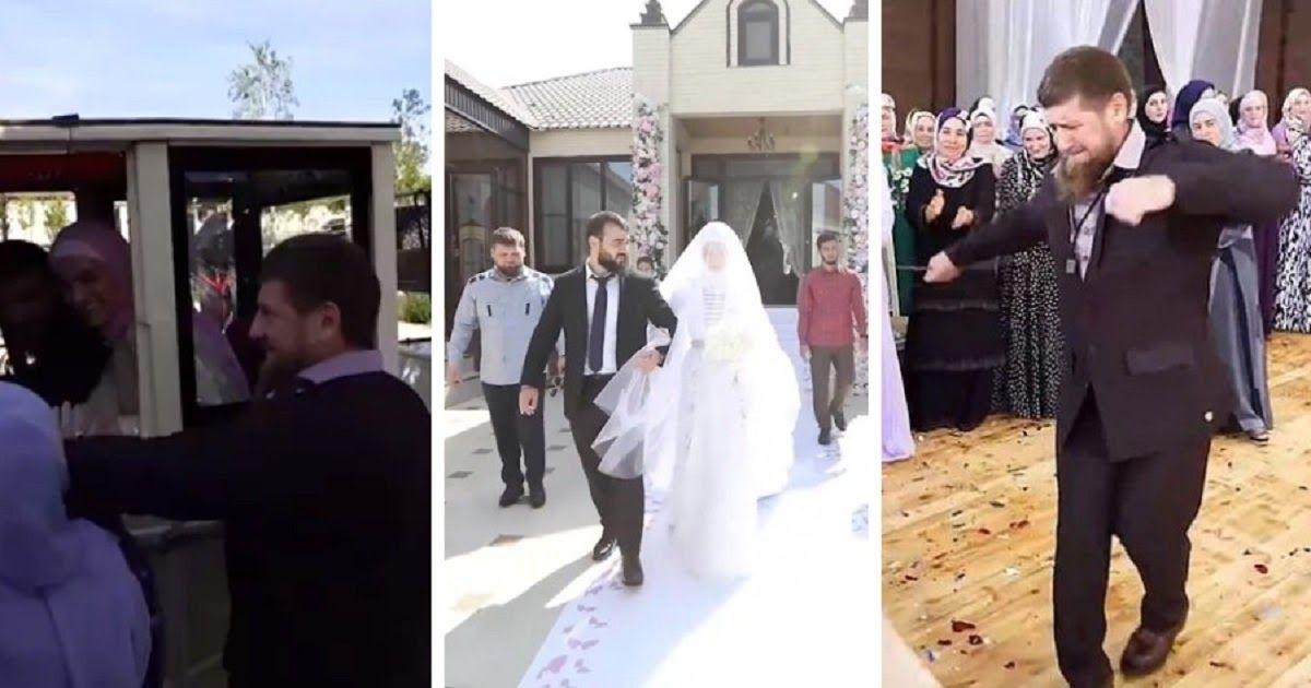 Фото Кадыров показал свадьбу племянника