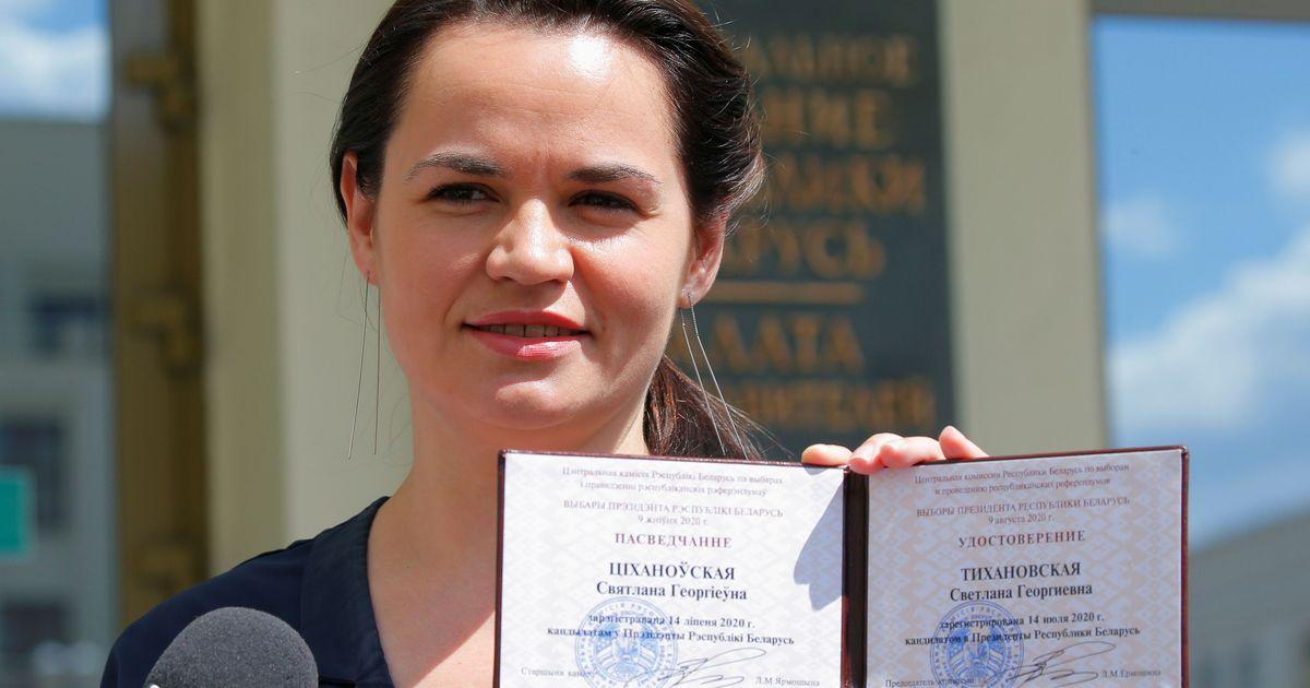 Фото Тихановская обвинила в похищении Колесниковой власти Белоруссии