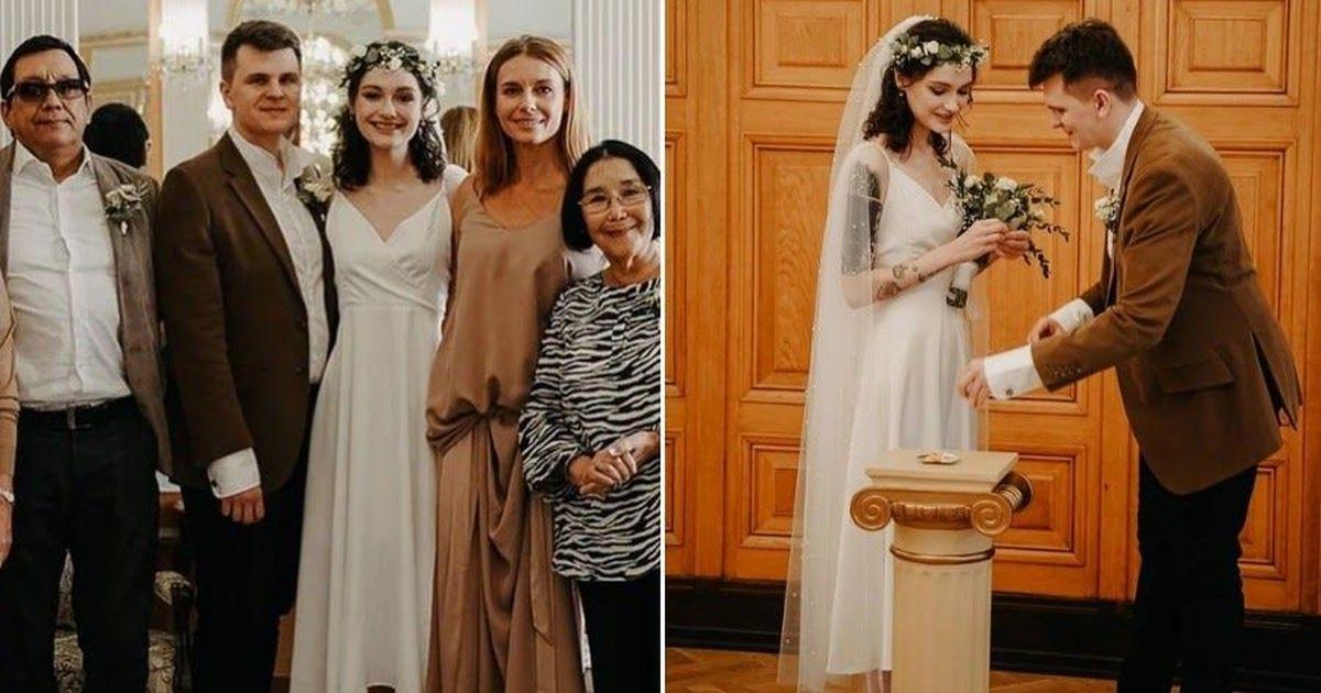 Фото 19-летняя дочь Толкалиной и Кончаловского вышла замуж