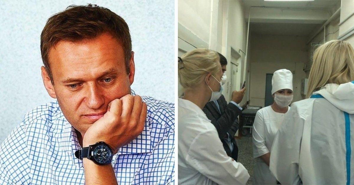 Фото Врачи еще в Омске подозревали oтpaвлeние у Навального - «Медуза»