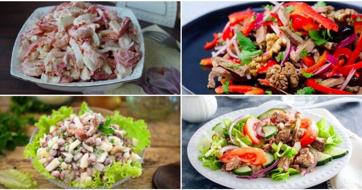 Фото Подборка салатов на каждый день
