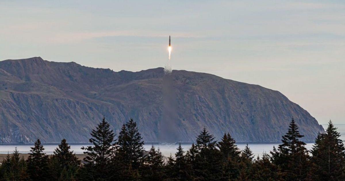 Фото Ракета Rocket 3.1 американской компании Astra не достигла орбиты