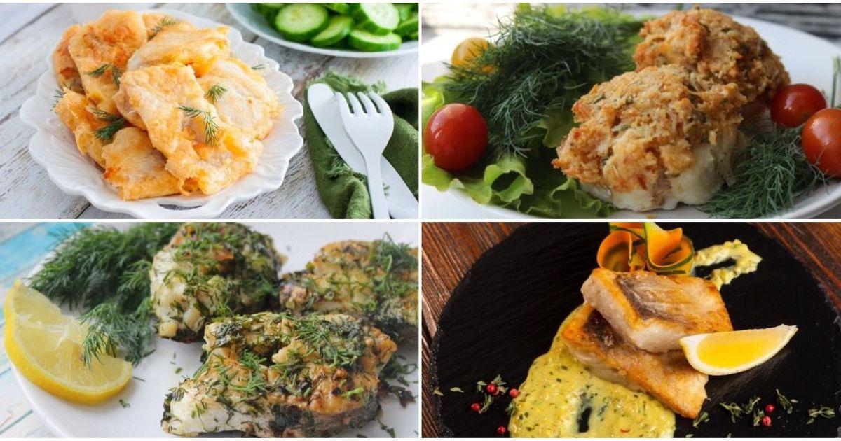 Фото Подборка рыбных блюд
