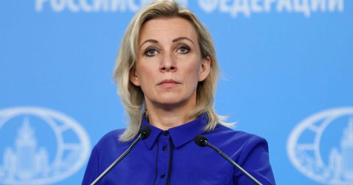 Фото Захарова обвинила Германию в срыве переговоров