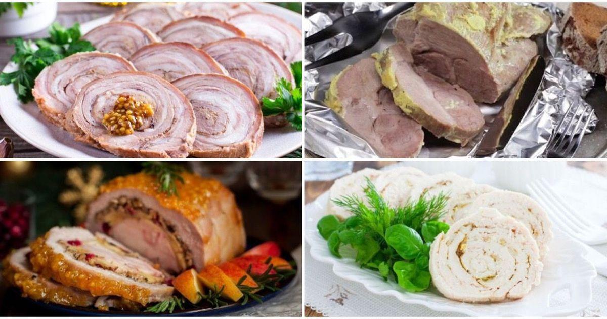 Фото Подборка рецептов запеченного мяса