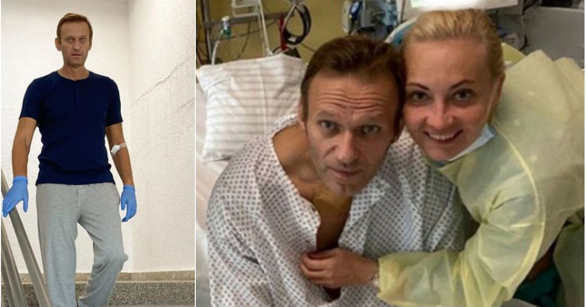 Фото Навальный вышел на связь и рассказал о своем лечении