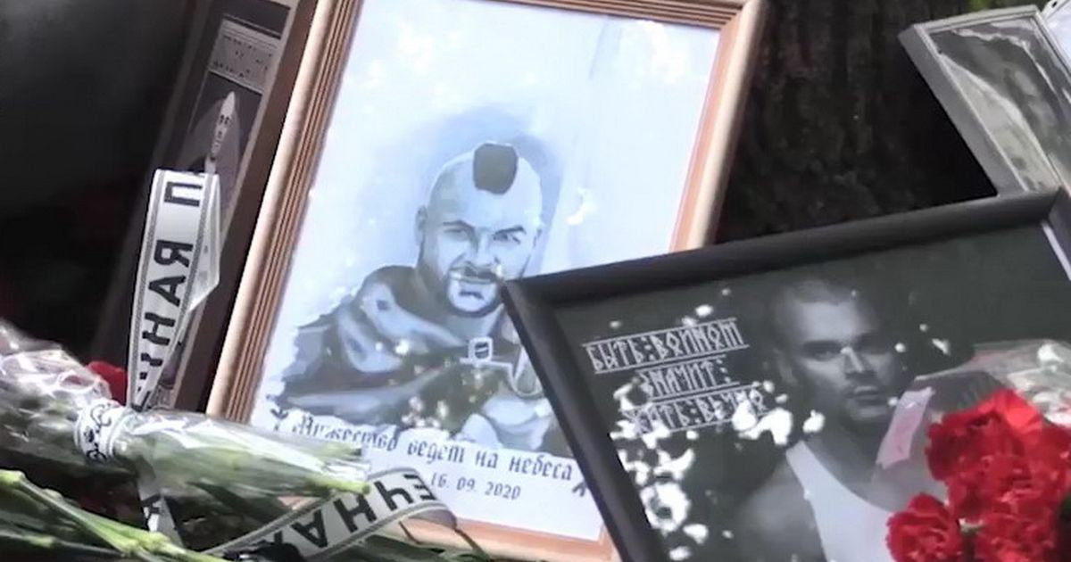 Фото В Москве прошли акции памяти националиста Тесака