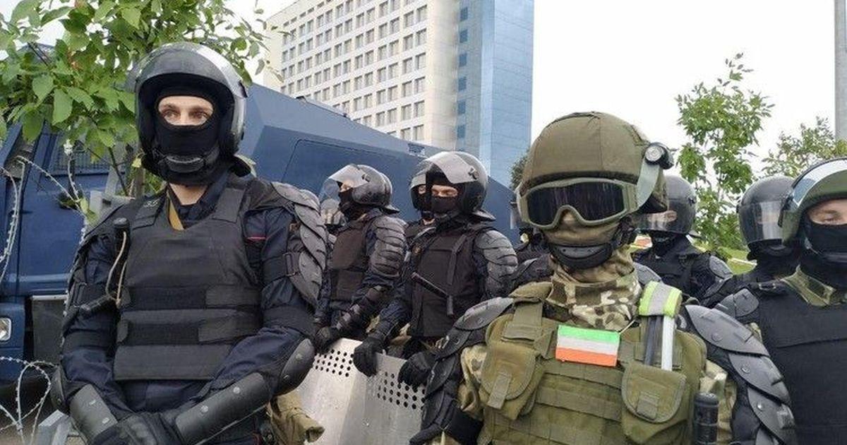 Фото В центре Минска власти готовятся к несанкционированному митингу