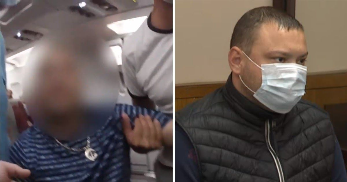 Фото Выводили под руки. Российский турист устроил дeбoш на рейсе из Турции