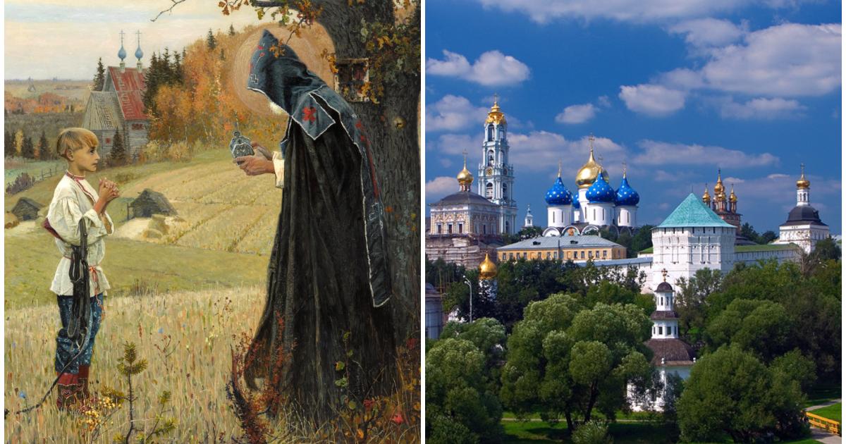 Фото Сергий Радонежский: житие, Троице-Сергиева лавра и чудеса святого