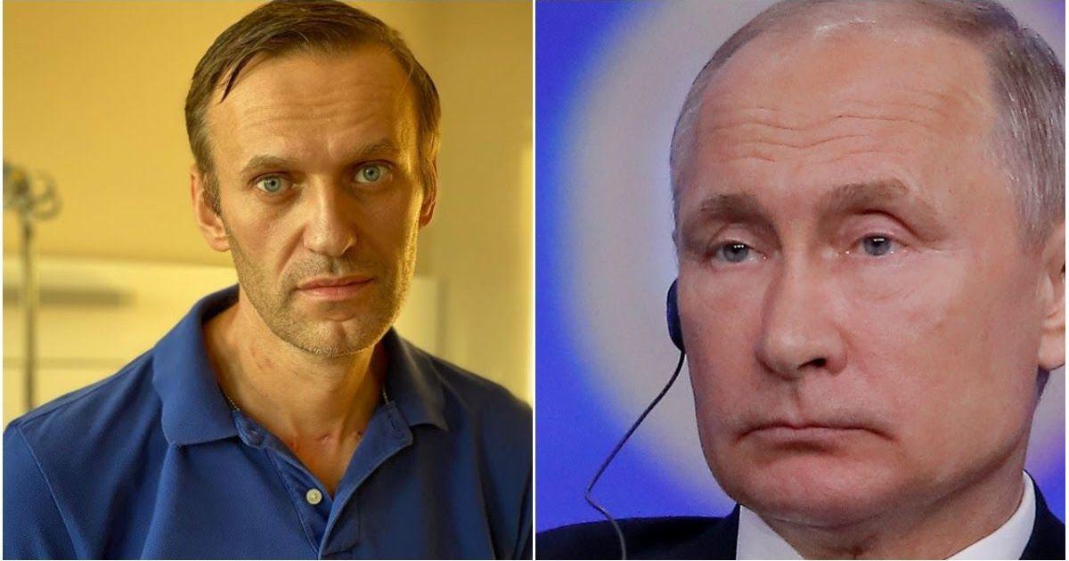 Фото Навальный ответил Путину на заявление, что оппозиционер «отравился ядом сам»
