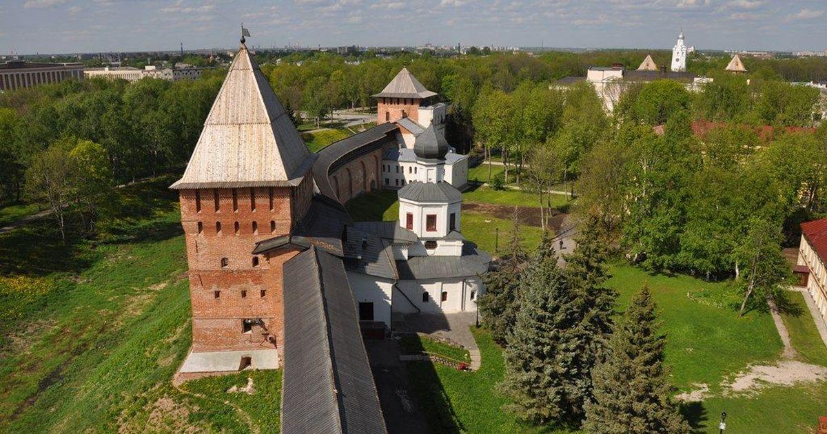 Фото Новгородский кремль будет отреставрирован за 417 млн рублей