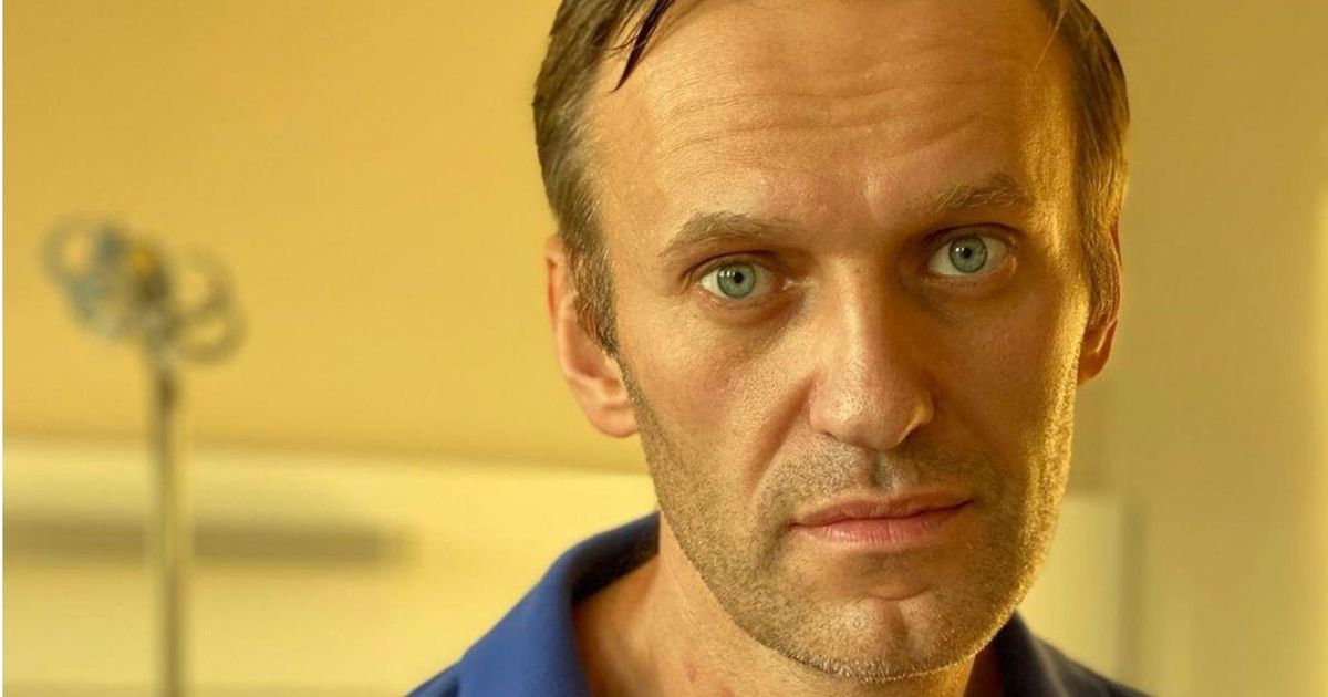 Фото Навального выписали из немецкой клиники