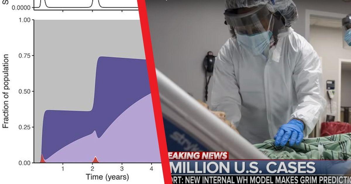 Фото Ученые из Принстона опубликовали сценарии пандемии ковида на 5 лет вперед