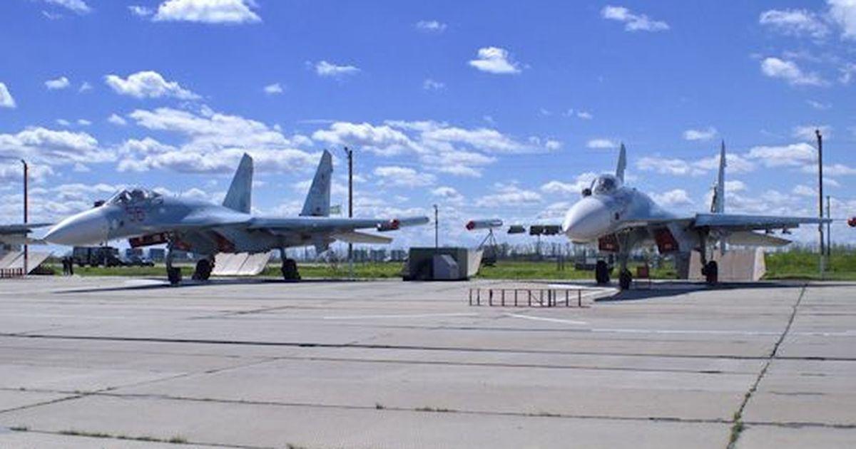 Фото Су-30 был случайно сбит другим самолетом во время учений в Тверской области