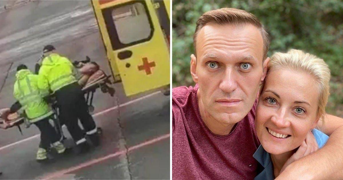 Фото Навальный поблагодарил пилотов и омских врачей за спасение жизни