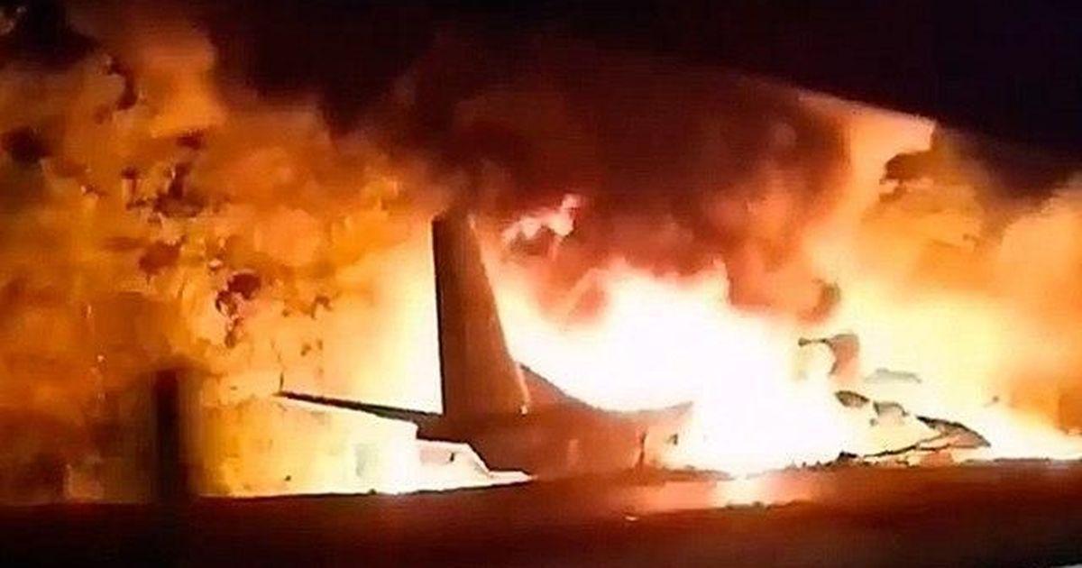 Фото После крушения Ан-26 под Харьковом прекращены все полеты подобных самолетов