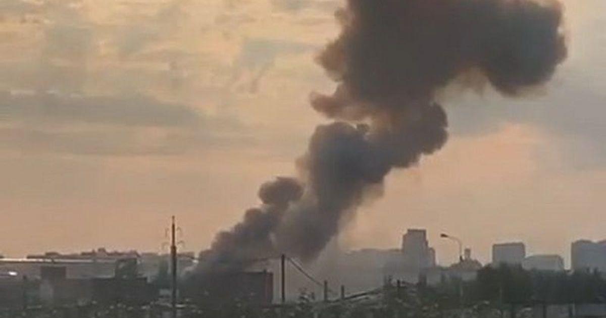 Фото На подмосковном заводе в Люберцах произошел взрыв