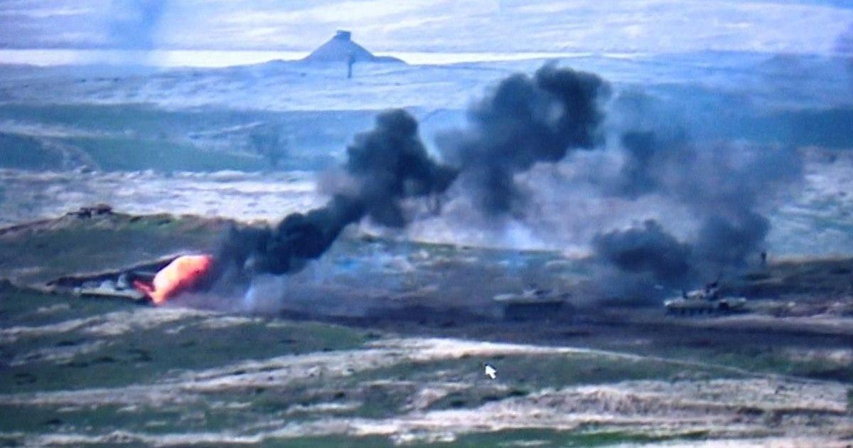 Фото Азербайджан заявил о взятии шести сел в Карабахе и потерях с армянской стороны