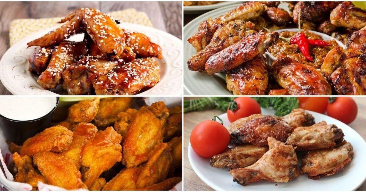 Фото Подборка рецептов куриных крылышек