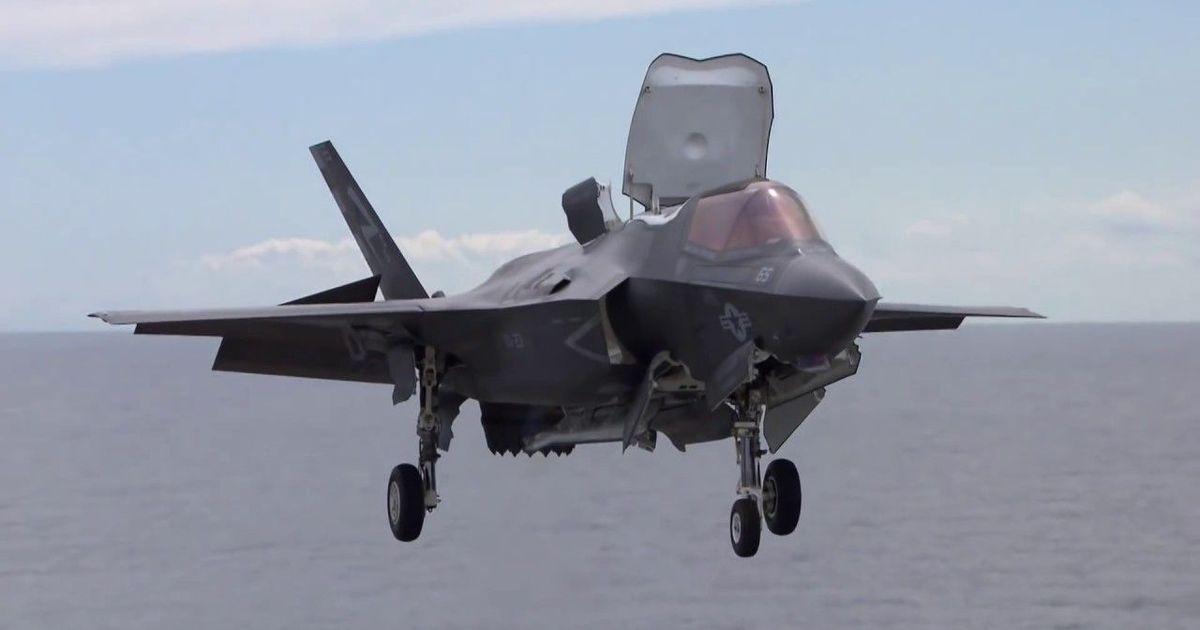 Фото США разбили истребитель F-35B из-за неудачной воздушной дозаправки