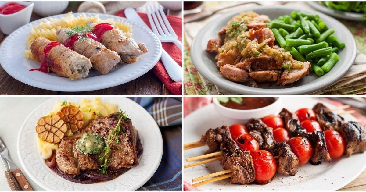 Фото Подборка сытных и вкусных блюд из свинины