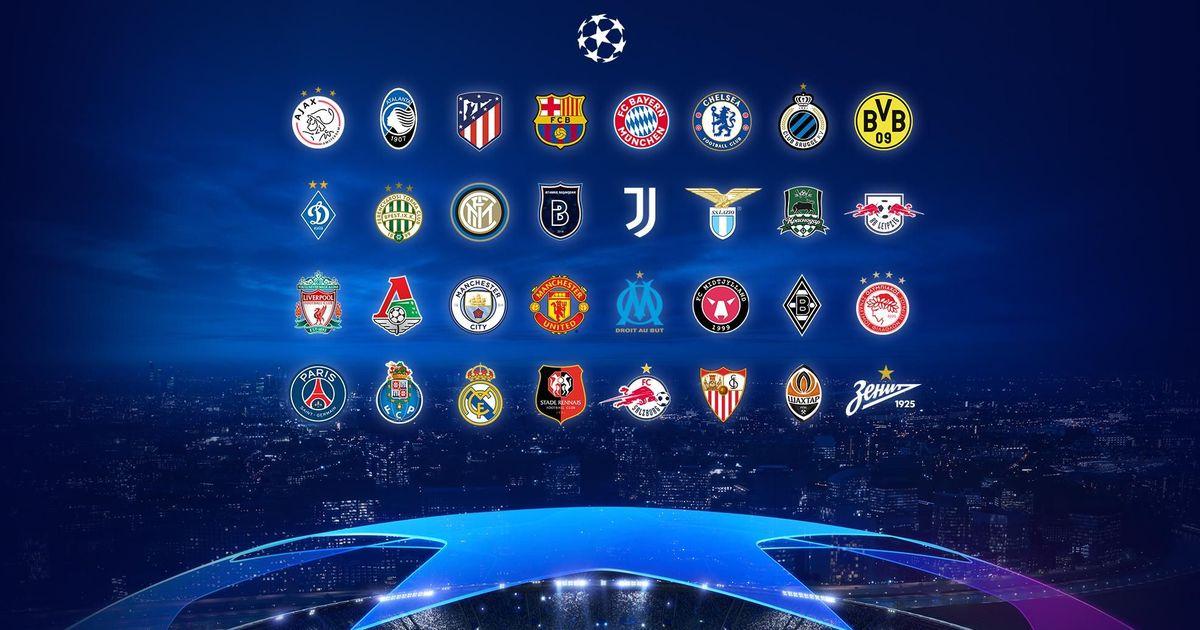 Фото Стали известны соперники российских клубов в групповом этапе Лиги чемпионов