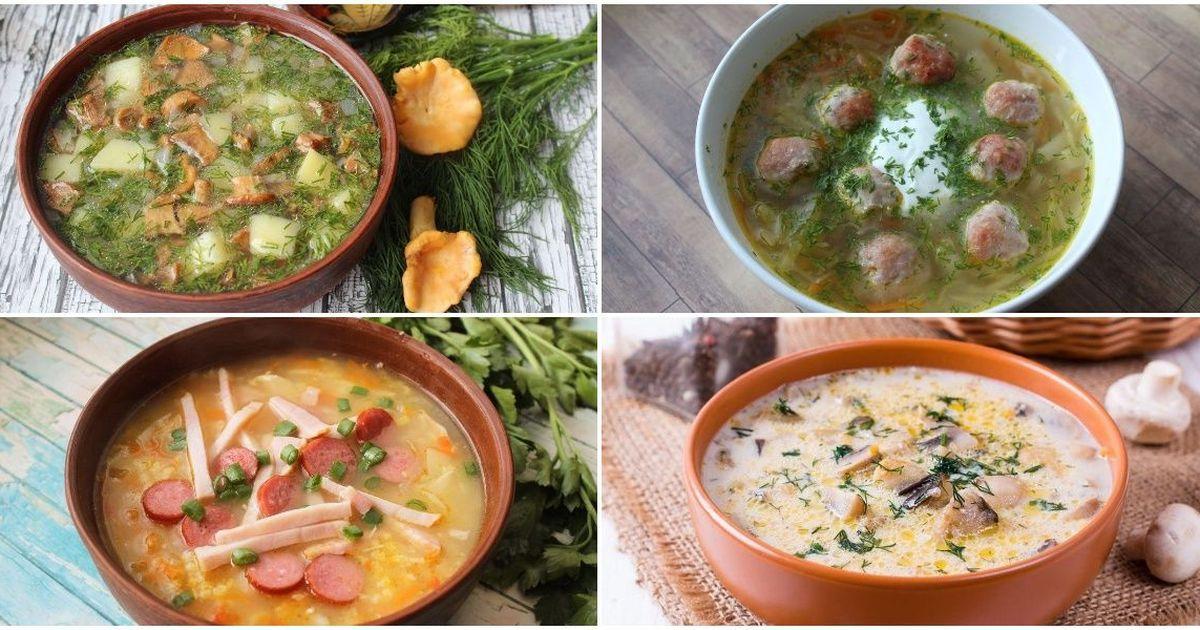 Фото ТОП-7 первых блюд на каждый день