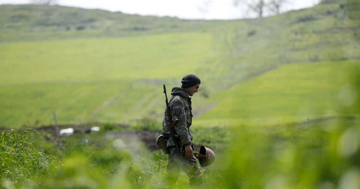 Фото Минобороны Армении призвало журналистов не вести эфиры из зоны боевых действий