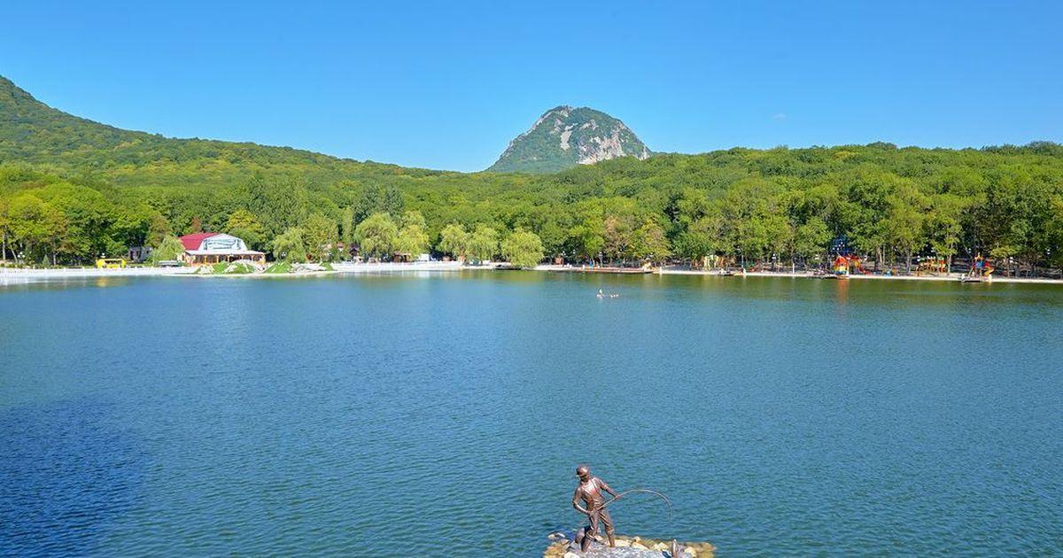 Фото Первые глэмпинги на озере в Железноводске появятся уже в этом году