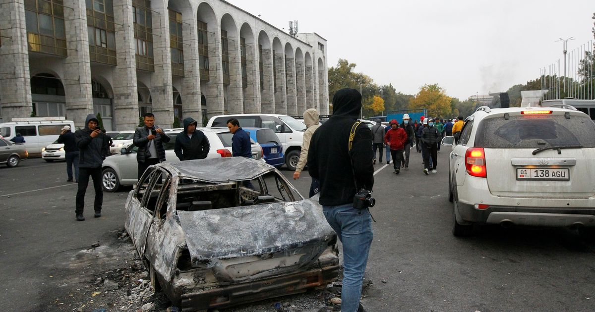 Фото Оппозиция Киргизии назначила собственного мэра Бишкека