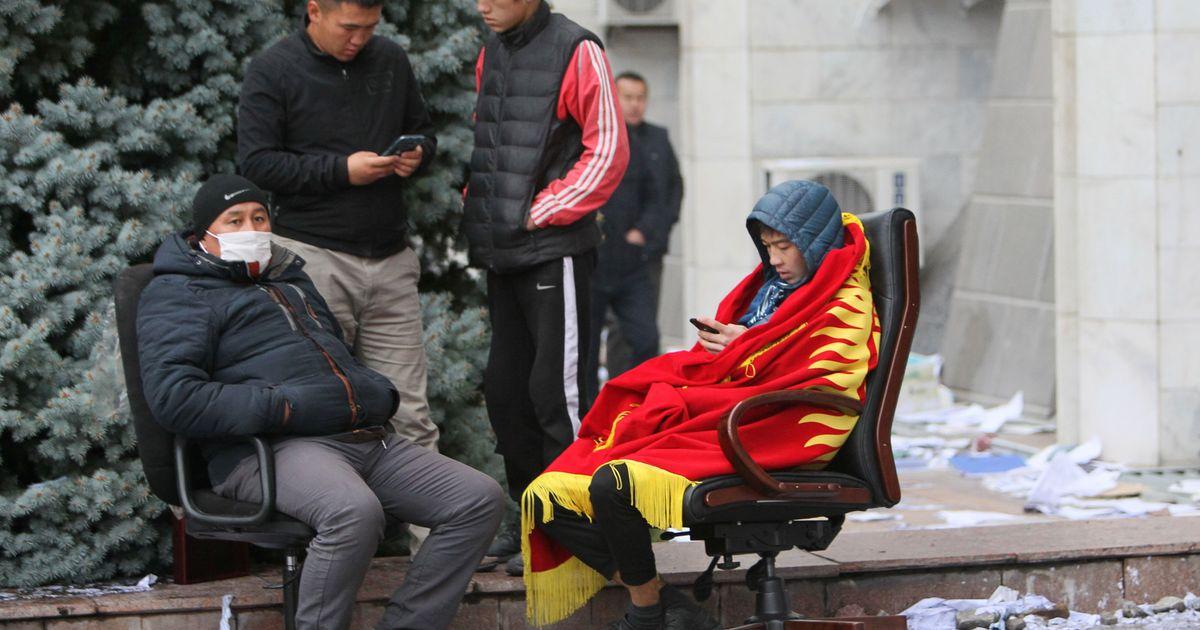 Фото В Киргизии на фоне протестов признали недействительными прошедшие выборы