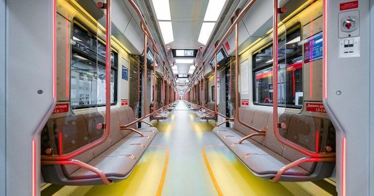 Фото В московском метро запустили поезда нового поколения