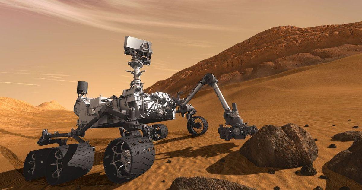 Фото Космонавт: человечество невольно уже занесло жизнь на Марс