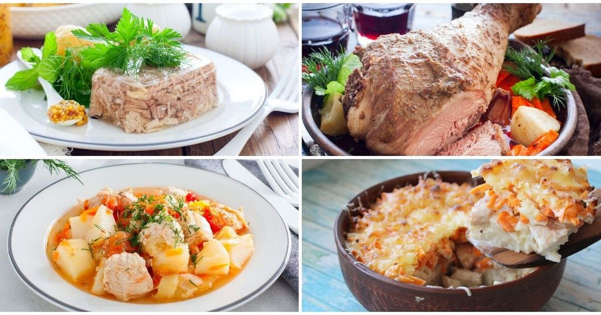 Фото 7 идей приготовления блюд из индейки