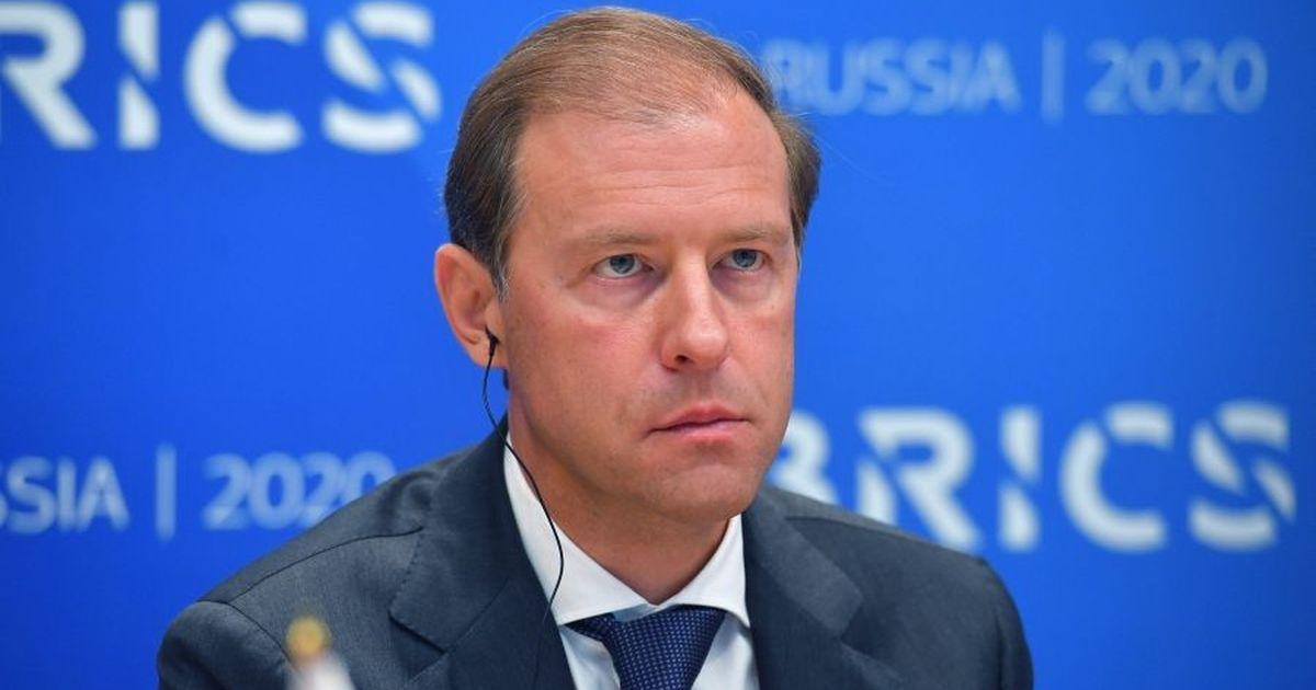 Фото Мантуров: падение курса рубля на 20% - это «круто»