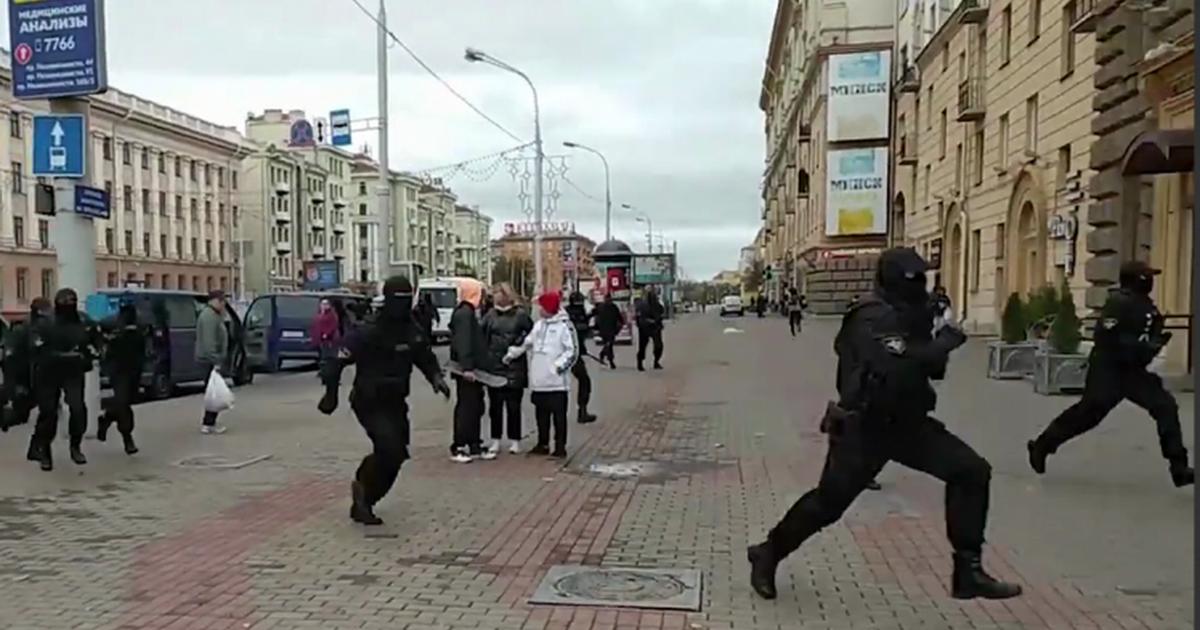 Фото В Минске вместе с участниками протестов задержаны и журналисты