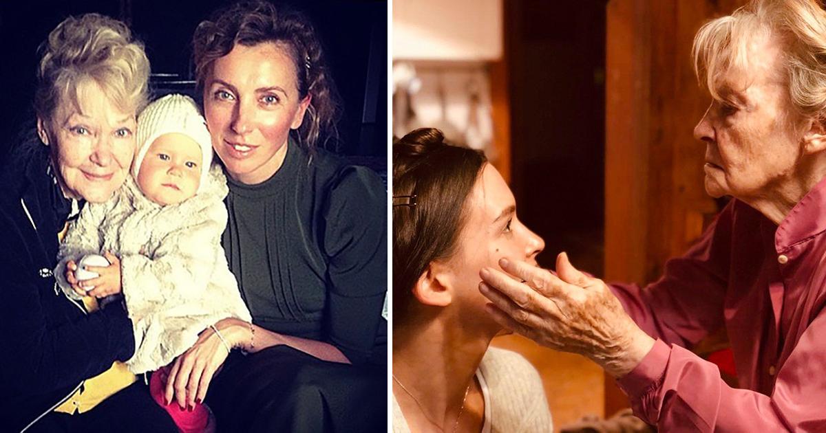Фото «Скучаем, Ириша». Бывшая и нынешняя жёны Бондарчука скорбят по его маме