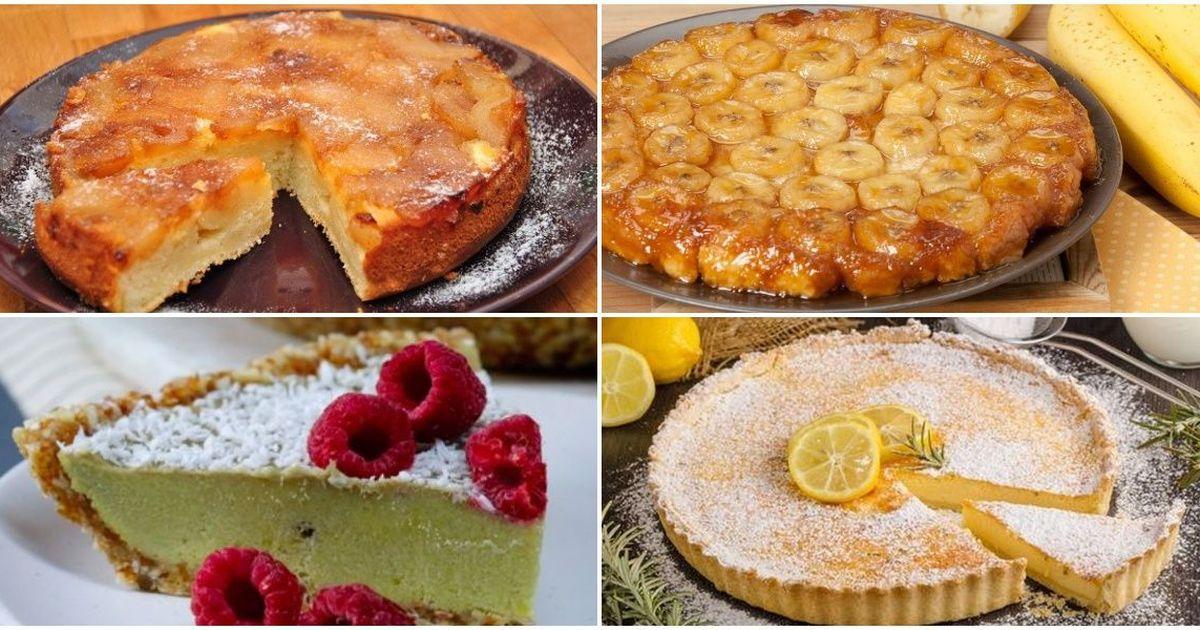 Фото Подборка сладких рецептов для любителей тарта