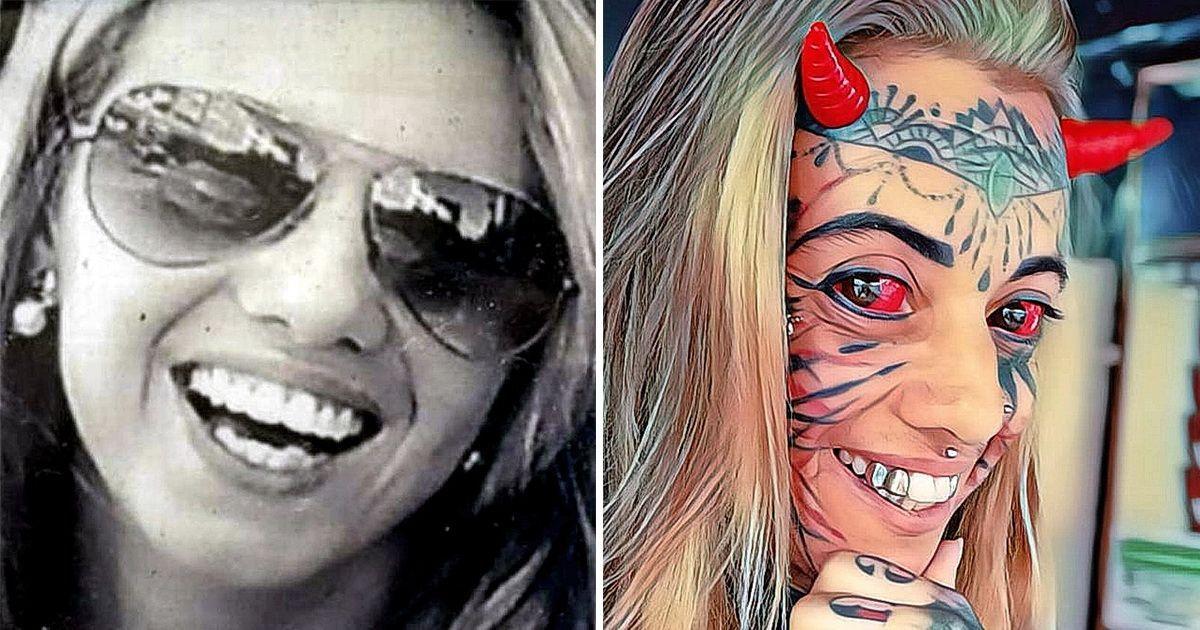 Фото 20 лет модификаций. Как мастер по пирсингу стала «демонической женщиной»