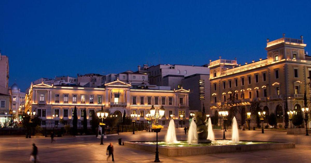 Фото В Греции запретят выходить на улицу по ночам