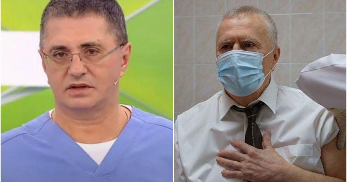 Фото Жириновский требует лишить Мясникова диплома врача