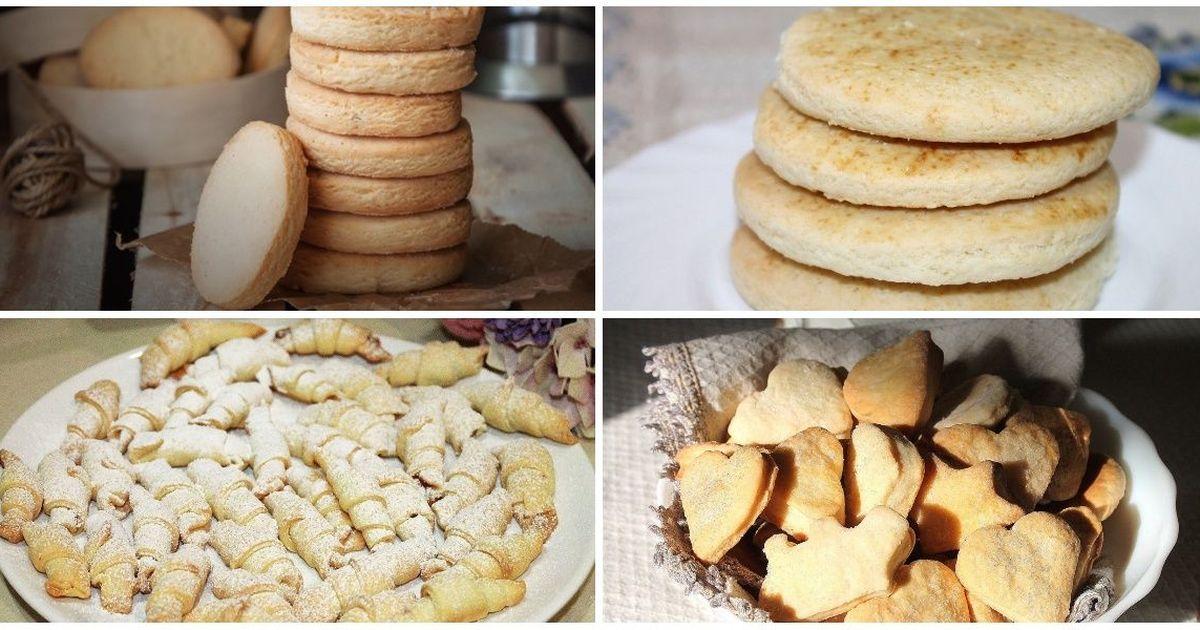 Фото 7 разнообразных рецептов песочного печенья